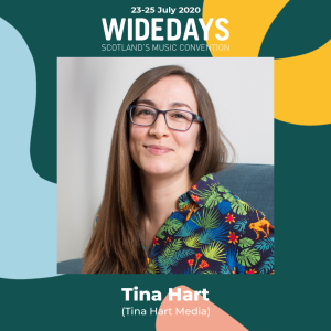 Tina Hart at Wide Days 2020